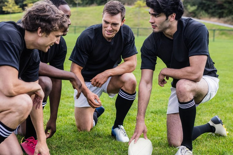rugby team building
