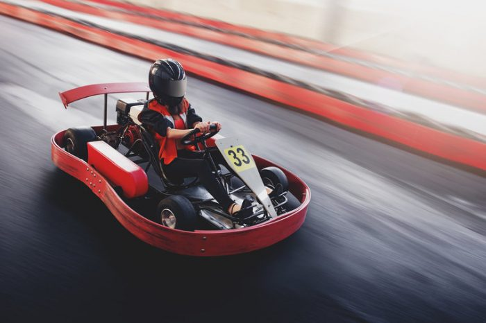 karting clermont ferrand animation