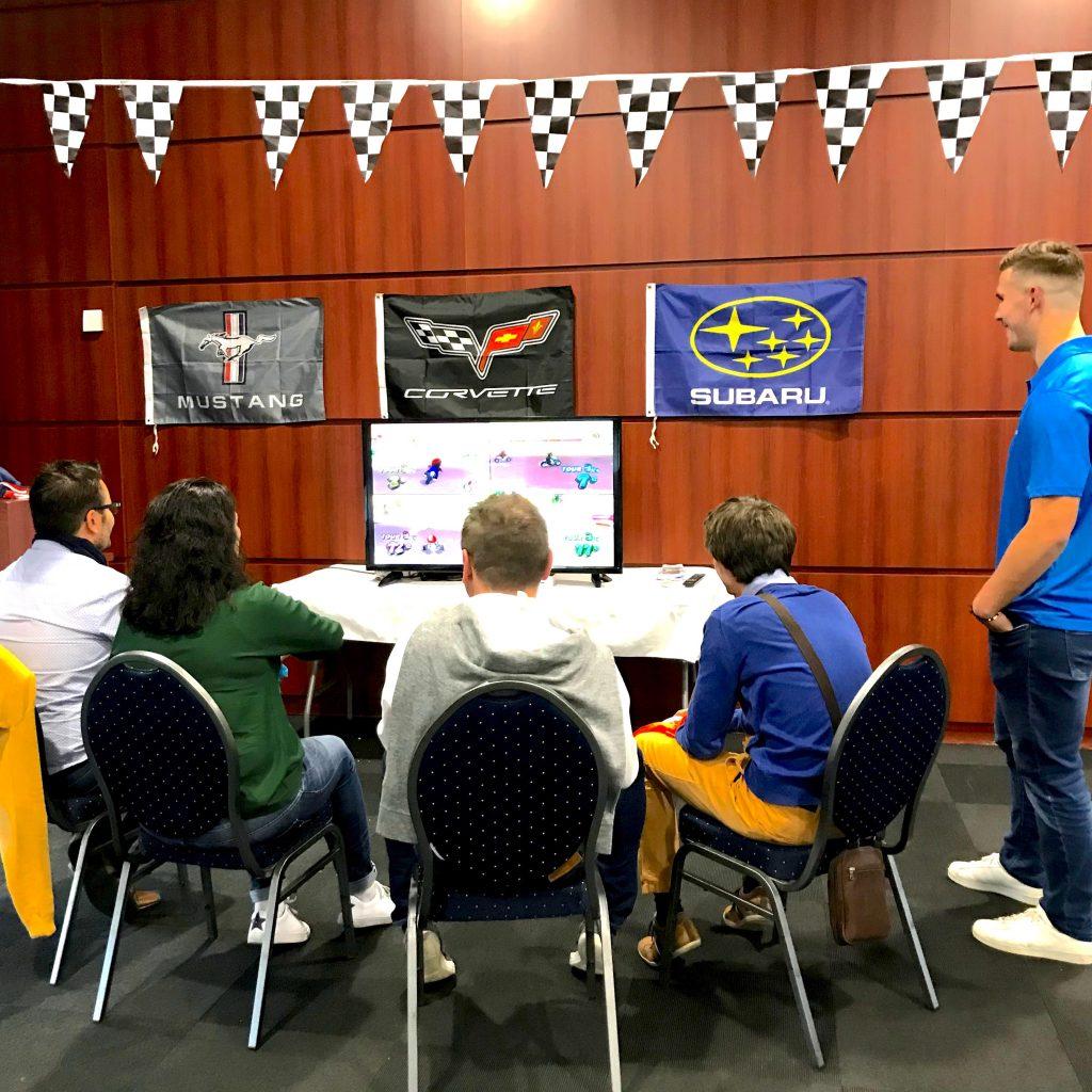 Activité Mario Kart du team building construc'team