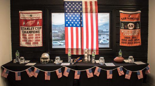 team building américain Sport in USA